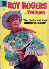 Roy Rogers and Trigger (Dell - 1955) -123- The Sign of the Burning Rock