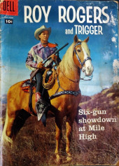 Roy Rogers and Trigger (Dell - 1955) -125- Six-gun Showdown at Mile High