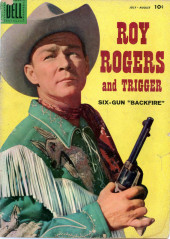 Roy Rogers and Trigger (Dell - 1955) -126- Six-gun
