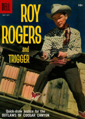 Roy Rogers and Trigger (Dell - 1955) -127- The Outlaws of Cougar Canyon