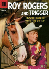Roy Rogers and Trigger (Dell - 1955) -128- The Drifter