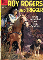 Roy Rogers and Trigger (Dell - 1955) -129- The Cave-In