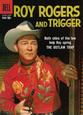 Roy Rogers and Trigger (Dell - 1955) -130- The Outlaw Trap