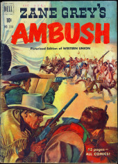 Four Color Comics (Dell - 1942) -314- Zane Grey's Ambush