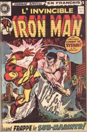 L'invincible Iron Man (Éditions Héritage) -9- Sub-Mariner : Cible de mort !
