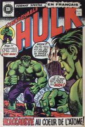 L'incroyable Hulk (Éditions Héritage) -15- Holocauste au cœur de l'atome !
