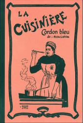 (Catalogues) Éditeurs, agences, festivals, fabricants de para-BD... - L'association - 200é - Catalogue - La cuisinière cordon bleu