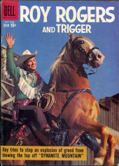 Roy Rogers and Trigger (Dell - 1955) -131- Dynamite Mountain
