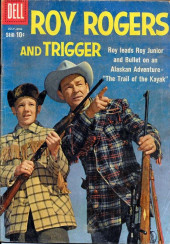 Roy Rogers and Trigger (Dell - 1955) -132- The Trail of the Kayak