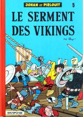 Johan et Pirlouit -5f81- Le serment des vikings