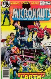 Micronauts (the) (1979) -2- Earth!
