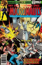 Micronauts (the) (1979) -3- Death-Duel at Daytona Beach!