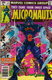 Micronauts (the) (1979) -4- A Hunting We Will Go!