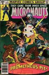 Micronauts (the) (1979) -5- The Prometheus Pit!