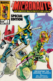 Micronauts Special Edition (1983) -1- Micronauts Special Edition #1
