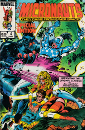 Micronauts Special Edition (1983) -4- Micronauts Special Edition #4