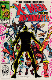 X-Men and the Micronauts (The) (1984) -1- First encounter
