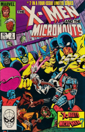X-Men and the Micronauts (The) (1984) -2- Abyss!