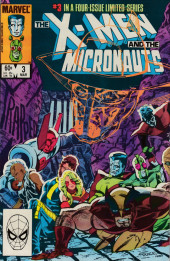 X-Men and the Micronauts (The) (1984) -3- Mine eyes have seen the gory!