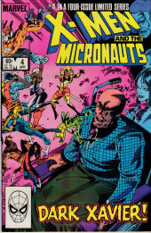 X-Men and the Micronauts (The) (1984) -4- Doppelganger