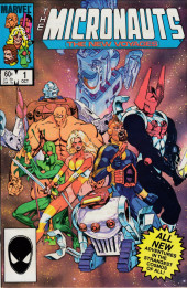 Micronauts: The new voyages (the) (1984) -1- Shadow of the Makers!