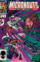 Micronauts: The new voyages (the) (1984) -4- Slow Death on the Proving Ground!