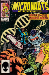 Micronauts: The new voyages (the) (1984) -5- Death, Sleep And The Traveler !