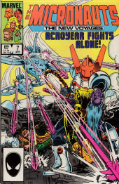 Micronauts: The new voyages (the) (1984) -7- In The Hands...Fire !