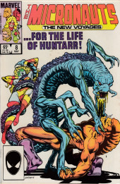 Micronauts: The new voyages (the) (1984) -8- Death And Transfiguration !
