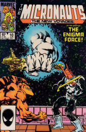 Micronauts: The new voyages (the) (1984) -10- The Wall Around The Universe