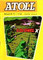 Atoll -77- COLONEL X - Mission Spéciale