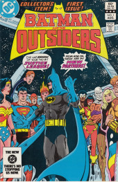 Batman and the Outsiders (1983) -1- Wars Ended... Wars Begun!