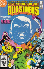 Adventures of the Outsiders (DC comics - 1986) -35- Sympathy for the Fuhrer!