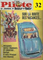 (Recueil) Pilote (Album du journal - Édition française cartonnée) -32- Reliure n°32