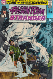 Couverture de Phantom Stranger (1969) -8- Journey to the Tomb of the Ice Giants!