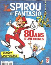 Spirou et Fantasio -2- (Divers) - 80 ans d'aventures