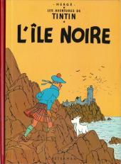 Tintin (Fac-similé couleurs) -7- L'île noire