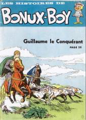 Bonux-Boy (Les histoires de) -95693- Guillaume le conquérant