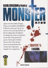 Monster (Urasawa) -13- Évasion