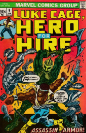 Hero for Hire (1972) -6- Knights and White Satin!
