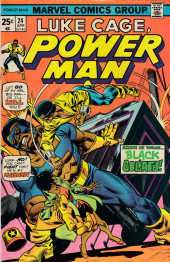 Power Man (Marvel - 1974) -24- Among Us Walks... Black Goliath!