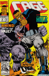 Cage Vol. 1 (Marvel - 1992) -9- Rhino: Out of the Vault - - Into the Cage