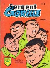Sergent Gorille -8- Des
