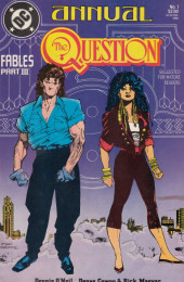 Question (The) (1987) -AN01- Fables Part III: The Silent Parable