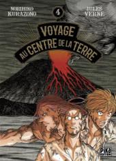 Voyage au centre de la Terre (Kurazono) -4- Tome 4