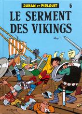 Johan et Pirlouit -5j14- Le serment des vikings