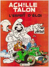 Achille Talon -25a91- Achille talon et l'esprit d'Éloi