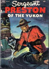 Four Color Comics (Dell - 1942) -419- Sergeant Preston of the Yukon