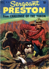 Four Color Comics (Dell - 1942) -344- Sergeant Preston from Challenge of the Yukon