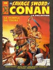 Conan (The Savage Sword of) - La Collection (Hachette) -19- Le temple du tigre !
